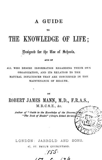 A guide to the knowledge of life PDF
