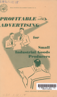Profitable Advertising for Small Industrial Goods Producers PDF