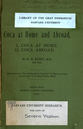 Coca at Home and Abroad
