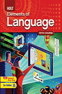 Elements of Language FIFTH COURSE  PDF