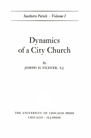 Southern Parish  Dynamics of a city church PDF