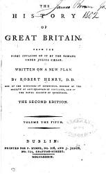 The History Of Great Britain  Book PDF