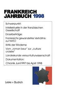 Frankreich Jahrbuch 1998 PDF