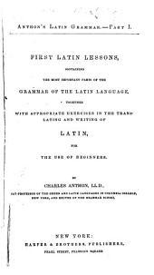 Anthon's Latin Grammar