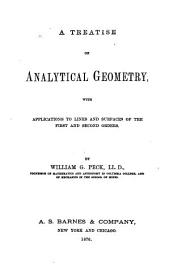 A Treatise on Analytical Geometry