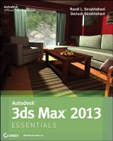 Autodesk 3ds Max 2013 Essentials PDF