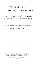 The Periplus of the Erythræan Sea: Travel and Trade in the Indian Ocean