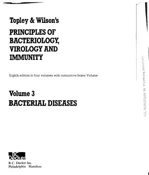 Topley   Wilson s Principles of Bacteriology  Virology  and Immunity  Bacterial diseases PDF