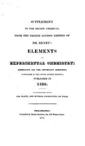 The Elements of Experimental Chemistry: Volume 3