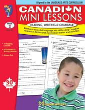 Canadian Mini Lessons - Reading, Writing, Grammar Gr. 2
