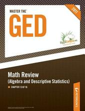 Master the GED: Math Review--Algebra and Descriptive Statistics: Chapter 13 of 16, Edition 25