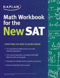 Kaplan Math Workbook For The New Sat Book PDF