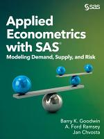Applied Econometrics with SAS PDF