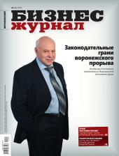 Бизнес-журнал, 2014/04: Воронежская область