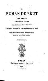 Le Roman de Brut: Volume2