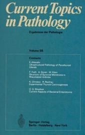 Current Topics in Pathology / Ergebnisse der Pathologie