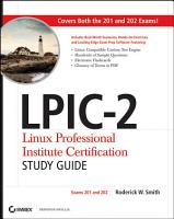 LPIC 2 Linux Professional Institute Certification Study Guide PDF