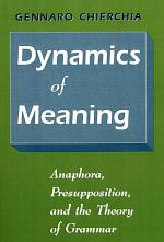Dynamics of Meaning