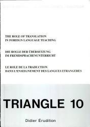 Le r  le de la traduction dans l enseignement des langues   trang  res   colloque PDF