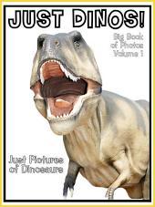 Just Dinosaurs! vol. 1: Big Book of Photographs & Dinosaur Pictures