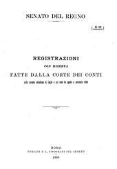Atti parlamentari: Volume 1