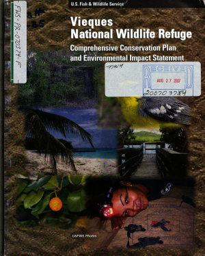 Vieques National Wildlife Refuge  N W R    Comprehensive Conservation Plan PDF
