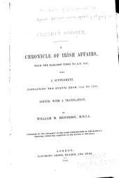 Chronicum Scotorum