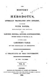 The History of Herodotus: Volume 2