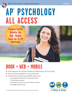 AP   Psychology All Access Book   Online   Mobile