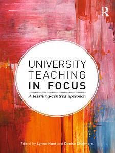 University Teaching in Focus Book