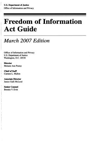 Freedom of Information Act Guide   Privacy Act Overview PDF