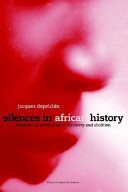 Silences in African History PDF