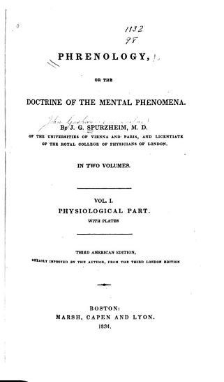 Phrenology  Physiological part PDF