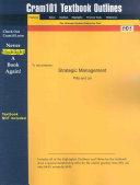 Outlines and Highlights for Strategic Management by Pitts PDF