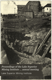 Proceedings of the Lake Superior Mining Institute ... Annual Meeting: Volume 12