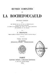 Oeuvres complètes de La Rochefoucauld