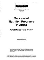 Successful Nutrition Programs in Africa: What Makes Them Work?