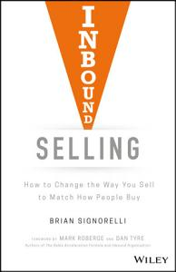 Inbound Selling Book