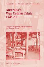 Australia's War Crimes Trials 1945-51
