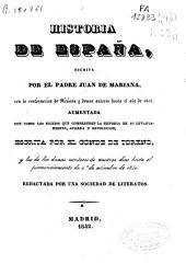 Historia general de España: Volúmenes 19-20