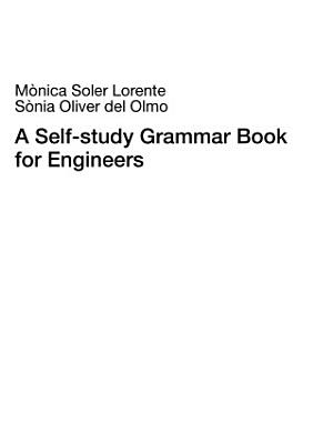 A Self study Grammar Book for Engineers