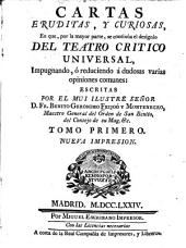 Cartas erudítas, y curiosas: Volumen 1