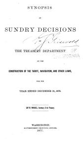 Treasury Decisions Under Customs and Other Laws: Volume 9