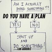 Do You Have a Plan?: Shut Up, Make a Plan and Do Something