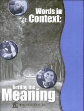 Words in Context: Getting the Meaning