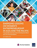Emerging Lessons on Women s Entrepreneurship in Asia and the Pacific