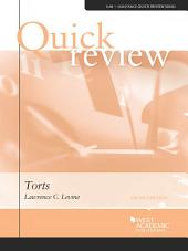 Quick Review of Torts, 5th: Edition 5