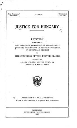 Justice for Hungary PDF