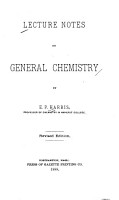 Lecture Notes on General Chemistry PDF