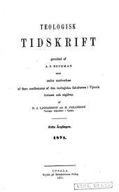 Teologisk tidskrift: Volym 11